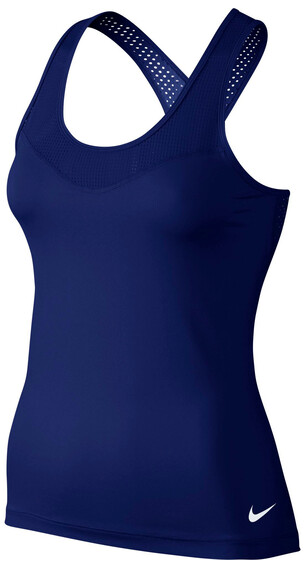 Nike Pro Hypercool - Camiseta Running Mujer - azul